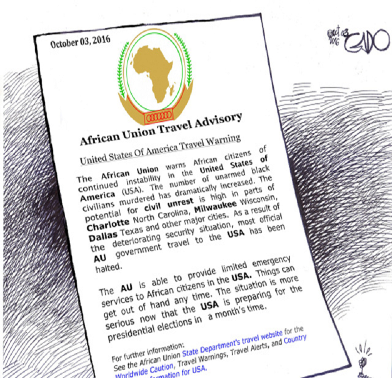Can the African Union travel advisories in reciprocity?