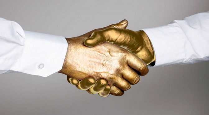 golden handshake