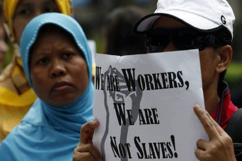 Forced Migrant Labour: Modern Slavery