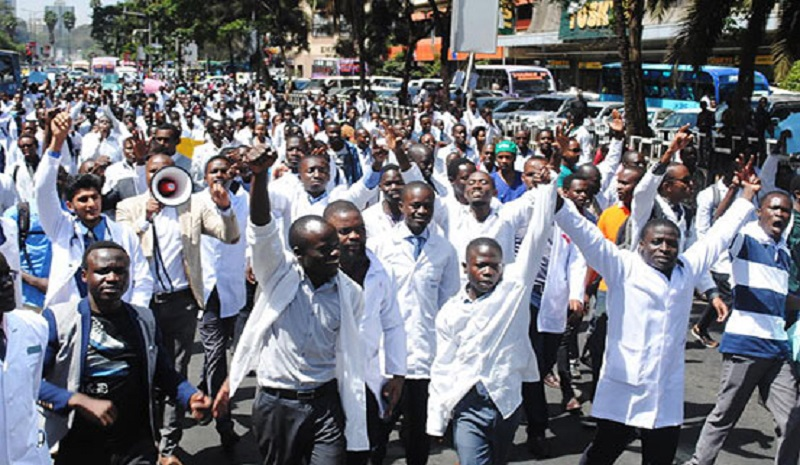 Health Crisis in Kenya: We are all on strike.