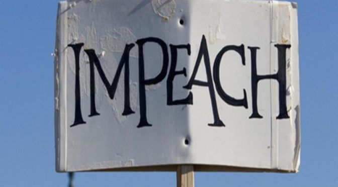 impeaching a president