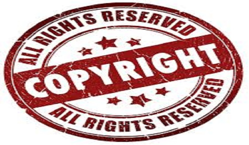 Copyright and exclusive rights to use